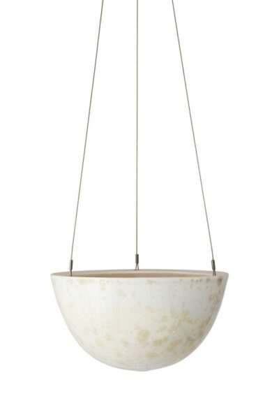 Crystalline Hanging Planter Yellow Medium