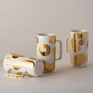 Angus & Celeste Tall Tea Mugs