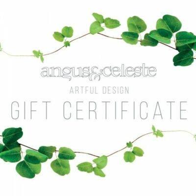 Angus & Celeste Gift Certificates
